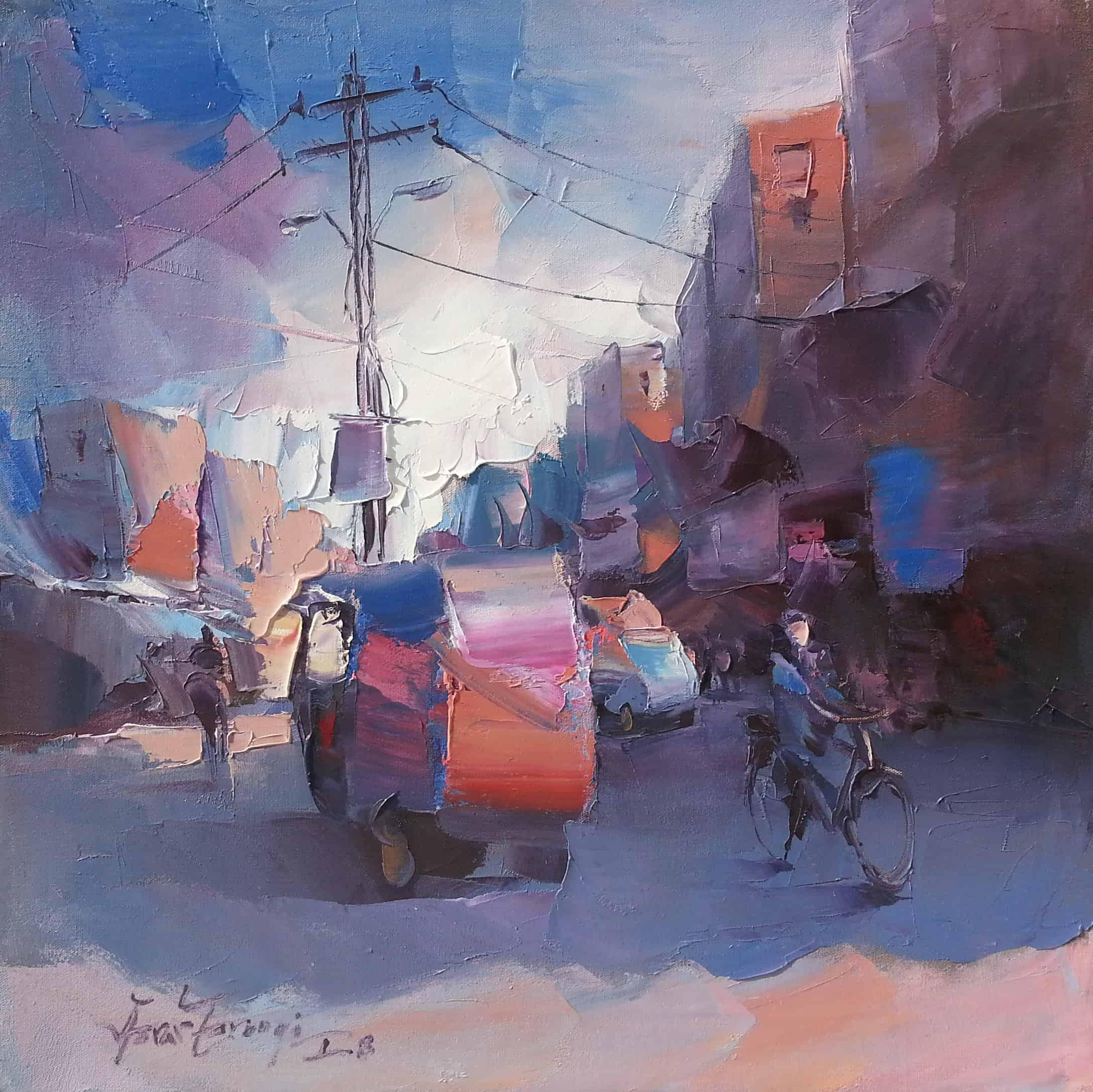 Raja Bazar Rawalpindi: Paintings By Asrar Farooqi