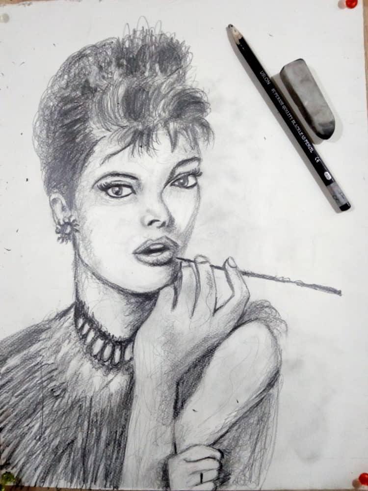 Scribble pencil sketch IMG_20190617_233814718