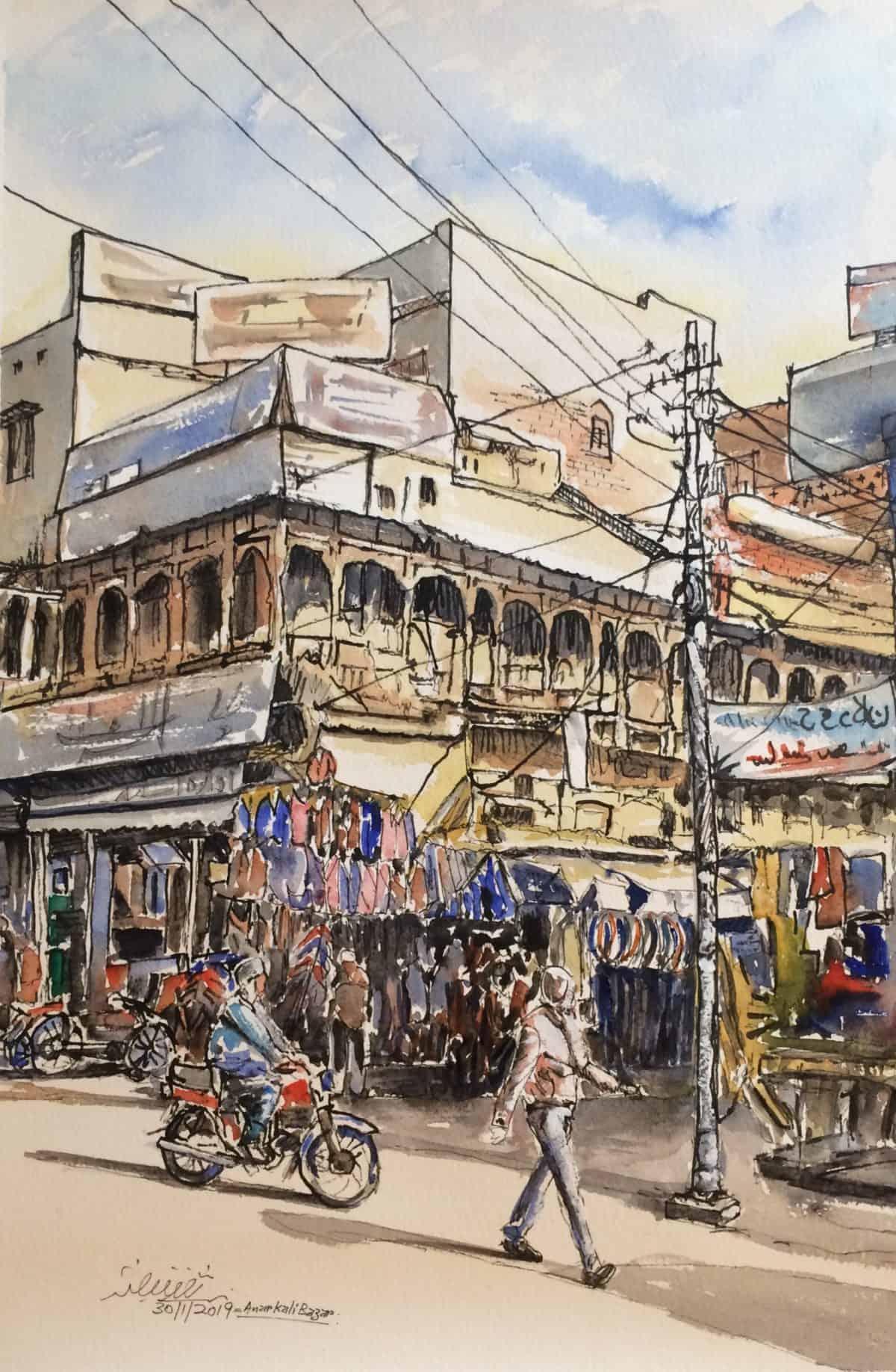 Anarkali BazarChairing Cross
