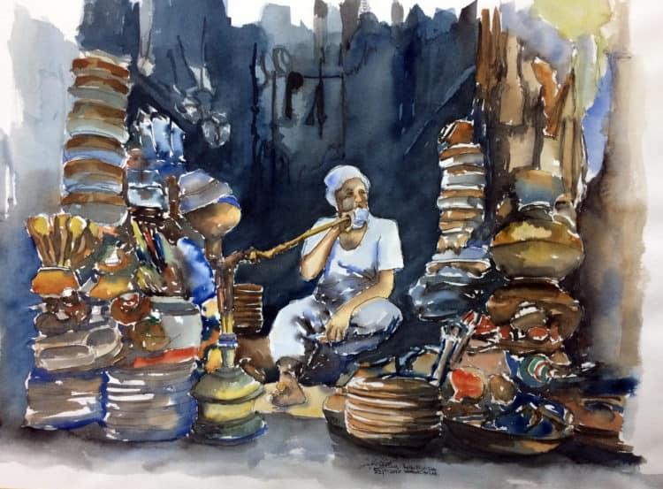 Baba Pottery Shop-Bhatti Gate Lhr