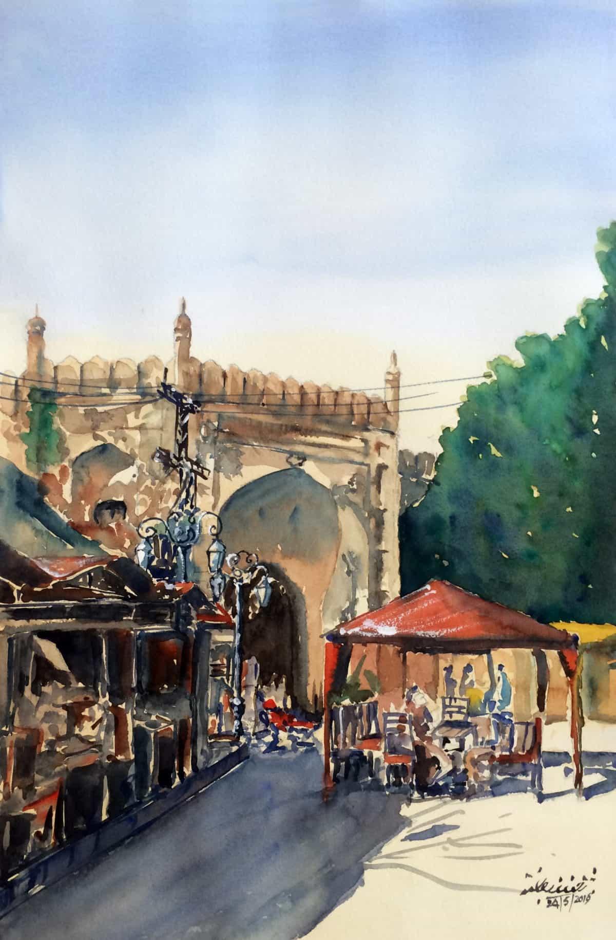 Roshnai Gate LahoreSoneri Masjid Lahore